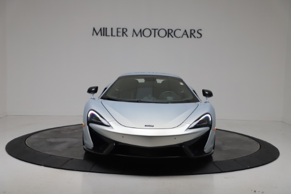 New 2020 McLaren 570S Spider Convertible for sale $256,990 at Bugatti of Greenwich in Greenwich CT 06830 22