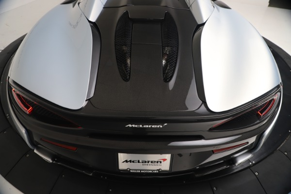 New 2020 McLaren 570S Spider Convertible for sale $256,990 at Bugatti of Greenwich in Greenwich CT 06830 23