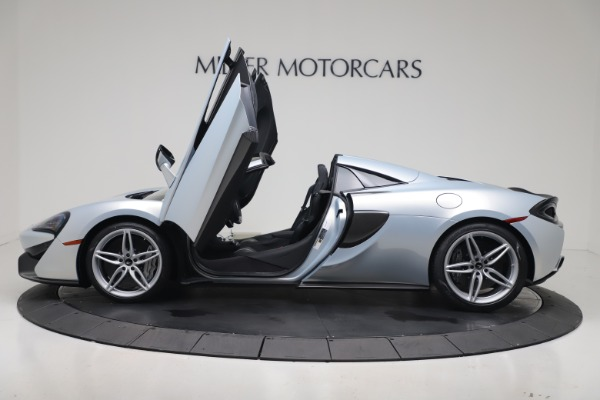 New 2020 McLaren 570S Spider Convertible for sale $256,990 at Bugatti of Greenwich in Greenwich CT 06830 25