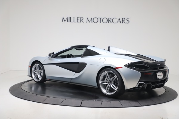 New 2020 McLaren 570S Spider Convertible for sale $256,990 at Bugatti of Greenwich in Greenwich CT 06830 3