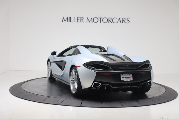 New 2020 McLaren 570S Spider Convertible for sale $256,990 at Bugatti of Greenwich in Greenwich CT 06830 4