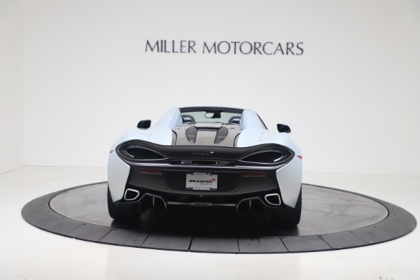 New 2020 McLaren 570S Spider Convertible for sale $256,990 at Bugatti of Greenwich in Greenwich CT 06830 5