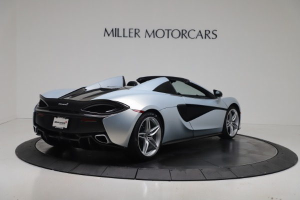 New 2020 McLaren 570S Spider Convertible for sale $256,990 at Bugatti of Greenwich in Greenwich CT 06830 6