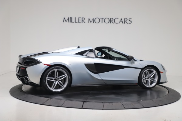 New 2020 McLaren 570S Spider Convertible for sale $256,990 at Bugatti of Greenwich in Greenwich CT 06830 7