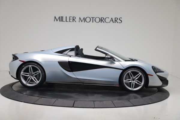 New 2020 McLaren 570S Spider Convertible for sale $256,990 at Bugatti of Greenwich in Greenwich CT 06830 8