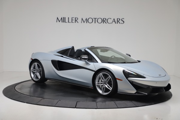 New 2020 McLaren 570S Spider Convertible for sale $256,990 at Bugatti of Greenwich in Greenwich CT 06830 9