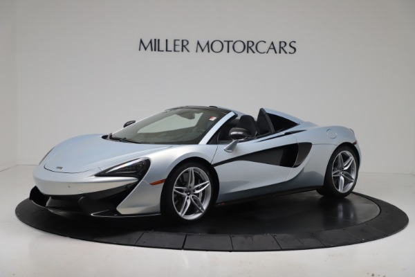 New 2020 McLaren 570S Spider Convertible for sale $256,990 at Bugatti of Greenwich in Greenwich CT 06830 1