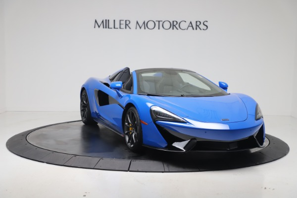 New 2020 McLaren 570S Spider Convertible for sale $236,270 at Bugatti of Greenwich in Greenwich CT 06830 10