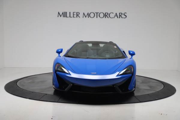 New 2020 McLaren 570S Spider Convertible for sale $236,270 at Bugatti of Greenwich in Greenwich CT 06830 11