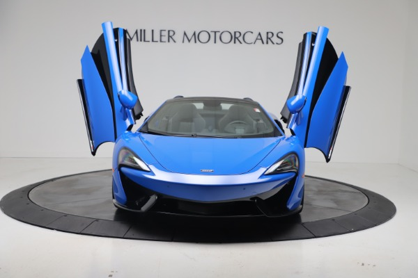 New 2020 McLaren 570S Spider Convertible for sale $236,270 at Bugatti of Greenwich in Greenwich CT 06830 12