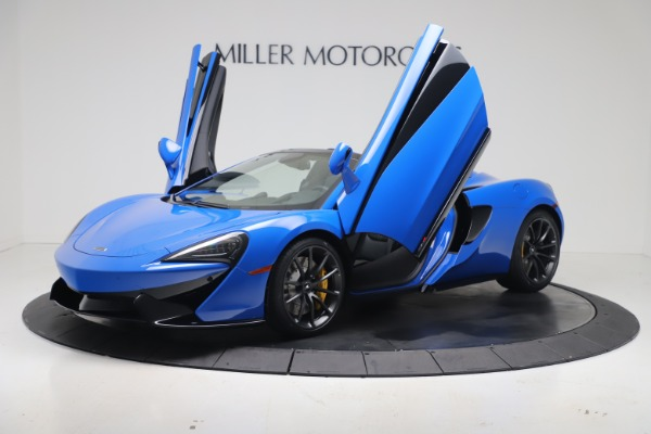 New 2020 McLaren 570S Spider Convertible for sale $236,270 at Bugatti of Greenwich in Greenwich CT 06830 13