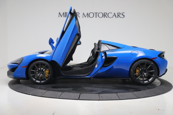 New 2020 McLaren 570S Spider Convertible for sale $236,270 at Bugatti of Greenwich in Greenwich CT 06830 14