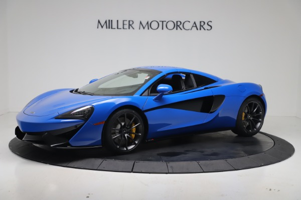 New 2020 McLaren 570S Spider Convertible for sale $236,270 at Bugatti of Greenwich in Greenwich CT 06830 15