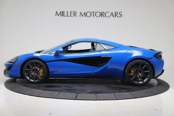 New 2020 McLaren 570S Spider Convertible for sale $236,270 at Bugatti of Greenwich in Greenwich CT 06830 16