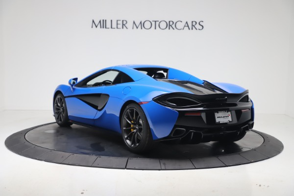 New 2020 McLaren 570S Spider Convertible for sale $236,270 at Bugatti of Greenwich in Greenwich CT 06830 17