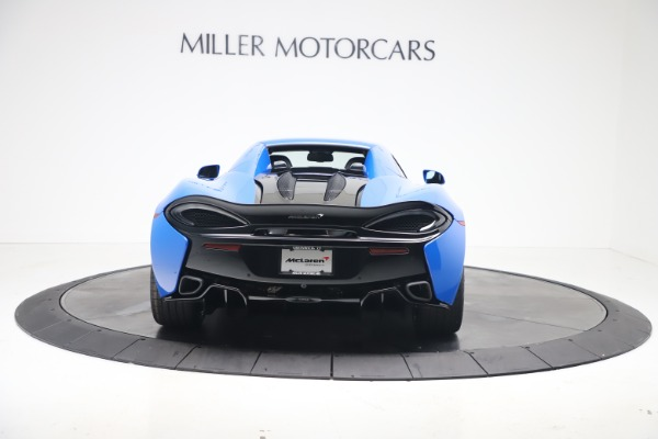 New 2020 McLaren 570S Spider Convertible for sale $236,270 at Bugatti of Greenwich in Greenwich CT 06830 18