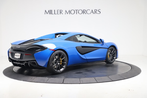 New 2020 McLaren 570S Spider Convertible for sale $236,270 at Bugatti of Greenwich in Greenwich CT 06830 19