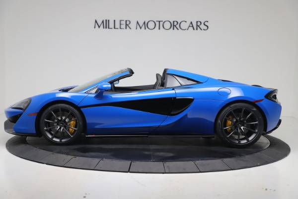 New 2020 McLaren 570S Spider Convertible for sale $236,270 at Bugatti of Greenwich in Greenwich CT 06830 2