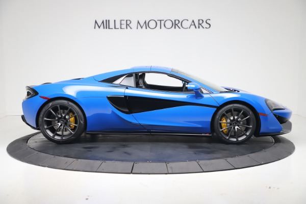 New 2020 McLaren 570S Spider Convertible for sale $236,270 at Bugatti of Greenwich in Greenwich CT 06830 20