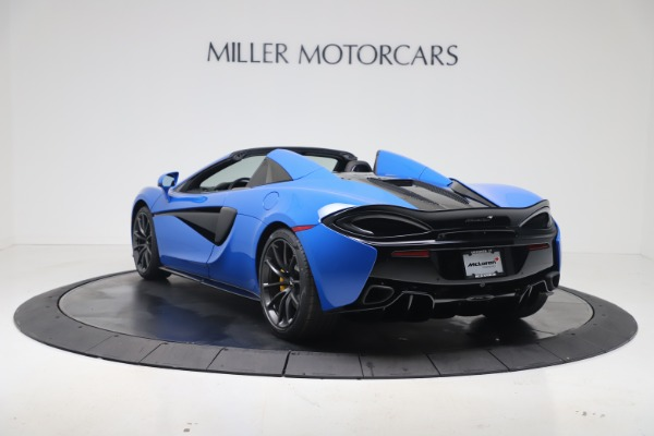 New 2020 McLaren 570S Spider Convertible for sale $236,270 at Bugatti of Greenwich in Greenwich CT 06830 4