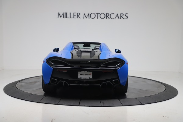 New 2020 McLaren 570S Spider Convertible for sale $236,270 at Bugatti of Greenwich in Greenwich CT 06830 5