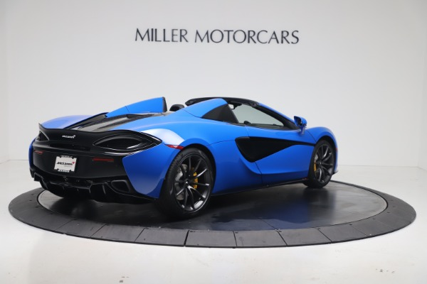 New 2020 McLaren 570S Spider Convertible for sale $236,270 at Bugatti of Greenwich in Greenwich CT 06830 6