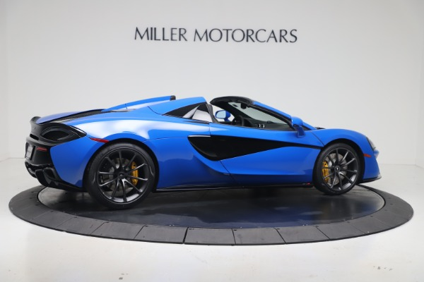 New 2020 McLaren 570S Spider Convertible for sale $236,270 at Bugatti of Greenwich in Greenwich CT 06830 7