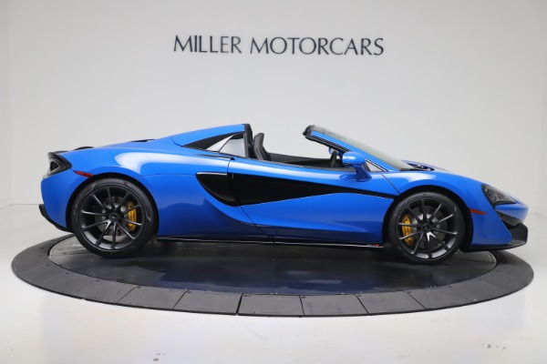 New 2020 McLaren 570S Spider Convertible for sale $236,270 at Bugatti of Greenwich in Greenwich CT 06830 8