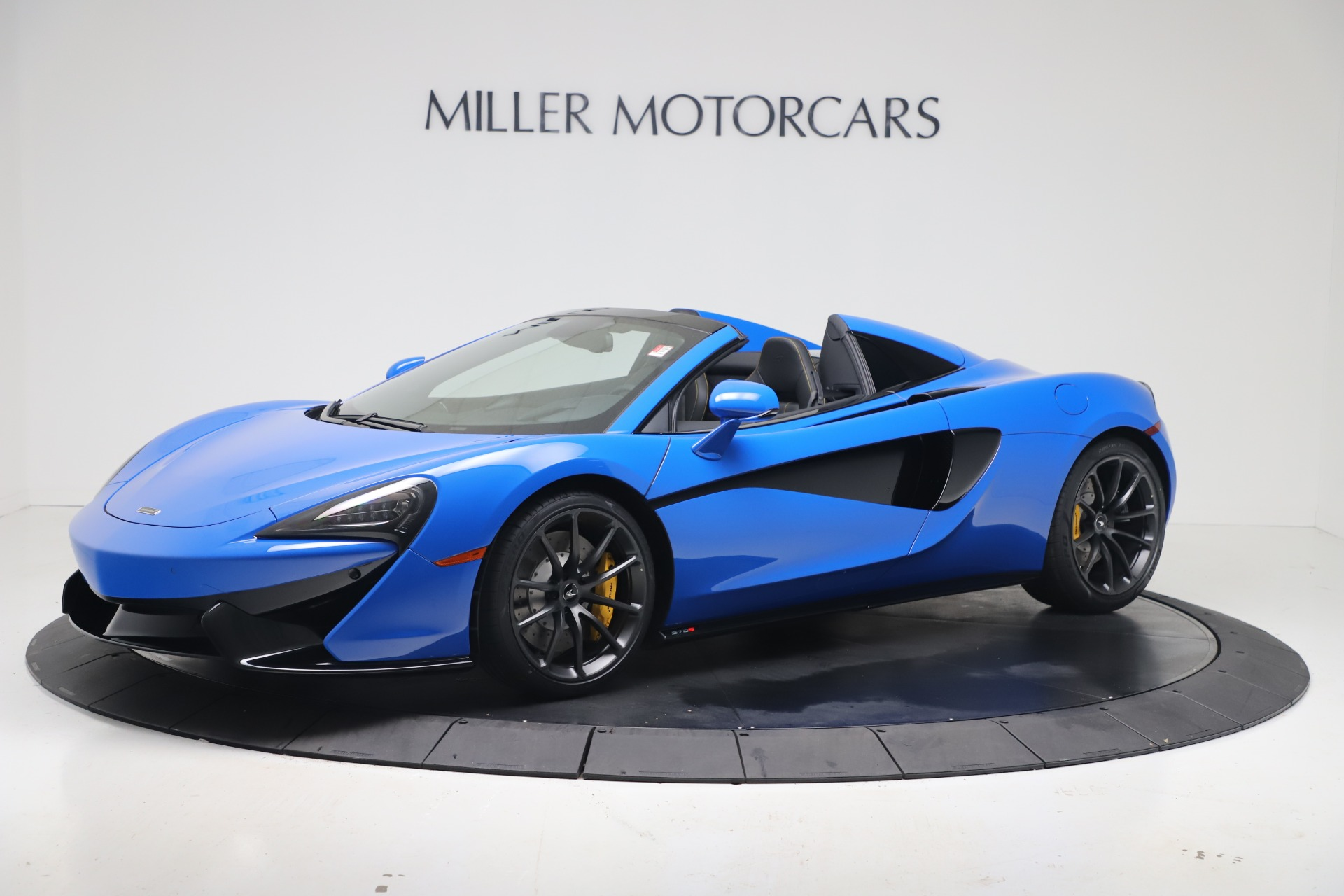 New 2020 McLaren 570S Spider Convertible for sale $236,270 at Bugatti of Greenwich in Greenwich CT 06830 1