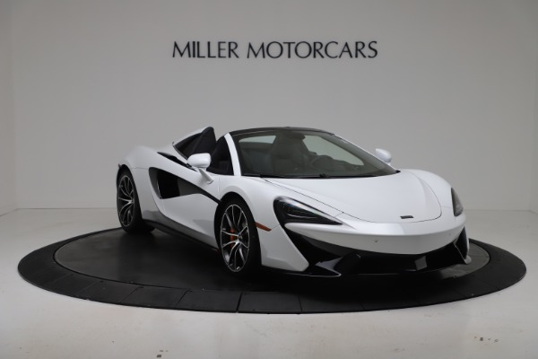 New 2020 McLaren 570S Spider Convertible for sale $231,150 at Bugatti of Greenwich in Greenwich CT 06830 10