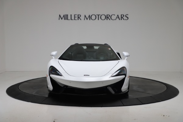 New 2020 McLaren 570S Spider Convertible for sale $231,150 at Bugatti of Greenwich in Greenwich CT 06830 11