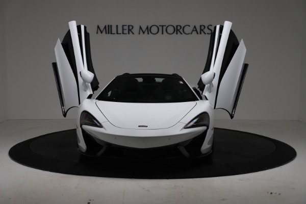 New 2020 McLaren 570S Spider Convertible for sale $231,150 at Bugatti of Greenwich in Greenwich CT 06830 12