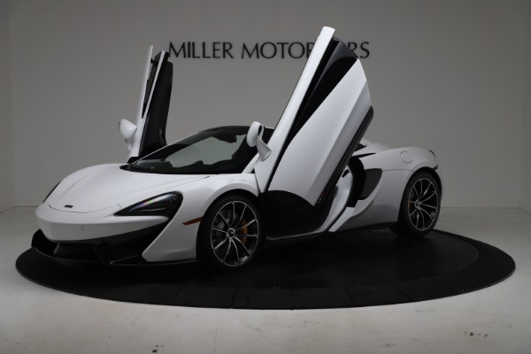 New 2020 McLaren 570S Spider Convertible for sale $231,150 at Bugatti of Greenwich in Greenwich CT 06830 13