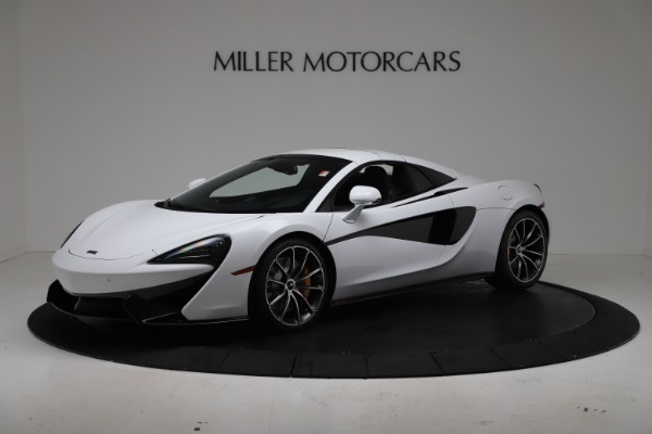 New 2020 McLaren 570S Spider Convertible for sale $231,150 at Bugatti of Greenwich in Greenwich CT 06830 14