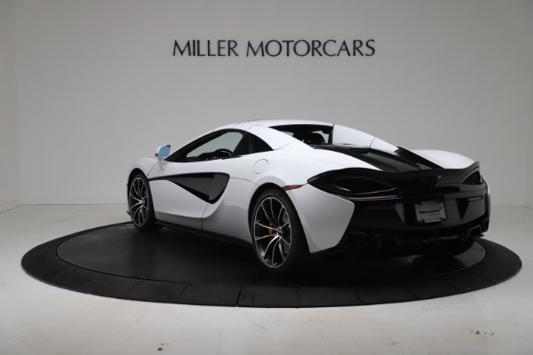 New 2020 McLaren 570S Spider Convertible for sale $231,150 at Bugatti of Greenwich in Greenwich CT 06830 16