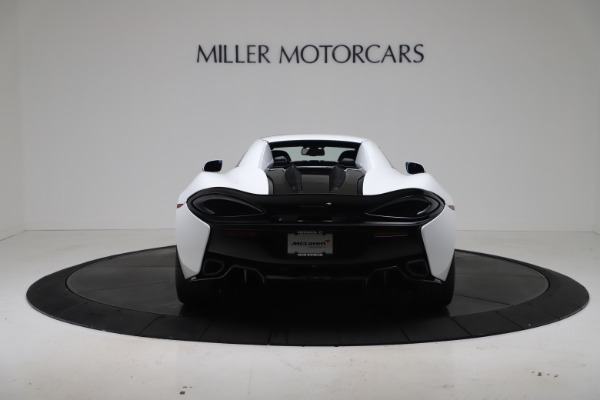 New 2020 McLaren 570S Spider Convertible for sale $231,150 at Bugatti of Greenwich in Greenwich CT 06830 17