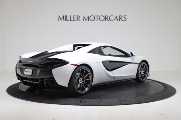 New 2020 McLaren 570S Spider Convertible for sale $231,150 at Bugatti of Greenwich in Greenwich CT 06830 18