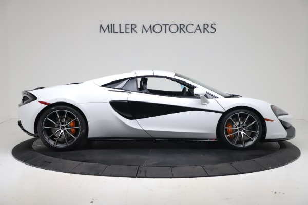 New 2020 McLaren 570S Spider Convertible for sale $231,150 at Bugatti of Greenwich in Greenwich CT 06830 19