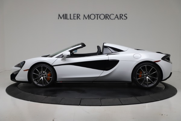 New 2020 McLaren 570S Spider Convertible for sale $231,150 at Bugatti of Greenwich in Greenwich CT 06830 2