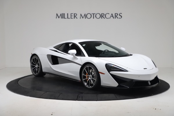 New 2020 McLaren 570S Spider Convertible for sale $231,150 at Bugatti of Greenwich in Greenwich CT 06830 20