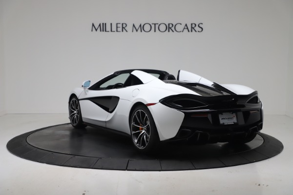 New 2020 McLaren 570S Spider Convertible for sale $231,150 at Bugatti of Greenwich in Greenwich CT 06830 4