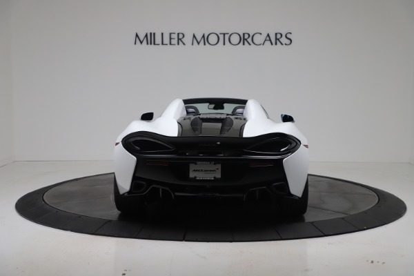 New 2020 McLaren 570S Spider Convertible for sale $231,150 at Bugatti of Greenwich in Greenwich CT 06830 5