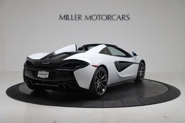 New 2020 McLaren 570S Spider Convertible for sale $231,150 at Bugatti of Greenwich in Greenwich CT 06830 6