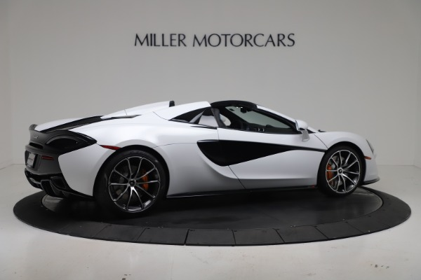 New 2020 McLaren 570S Spider Convertible for sale $231,150 at Bugatti of Greenwich in Greenwich CT 06830 7