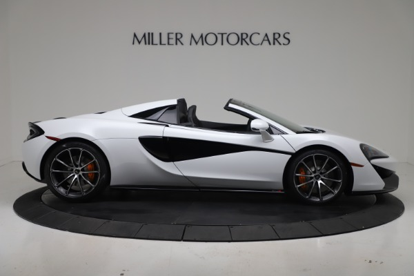 New 2020 McLaren 570S Spider Convertible for sale $231,150 at Bugatti of Greenwich in Greenwich CT 06830 8