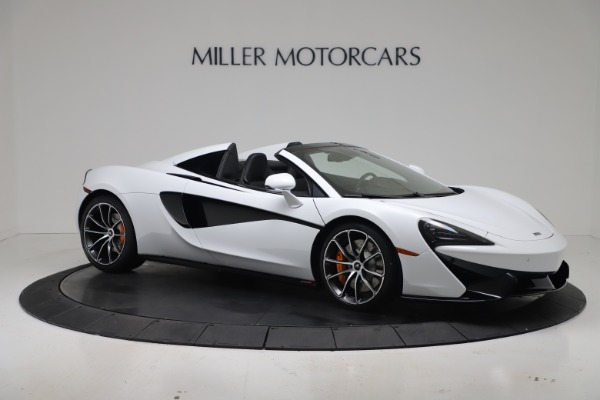 New 2020 McLaren 570S Spider Convertible for sale $231,150 at Bugatti of Greenwich in Greenwich CT 06830 9