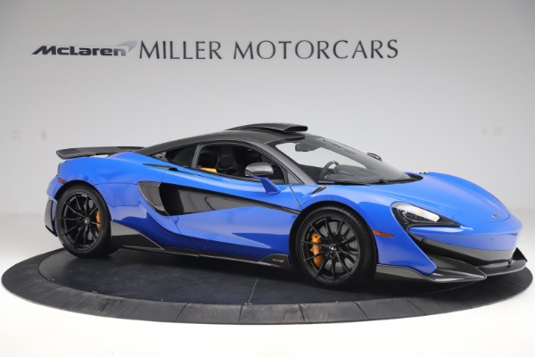 Used 2019 McLaren 600LT for sale $255,900 at Bugatti of Greenwich in Greenwich CT 06830 10