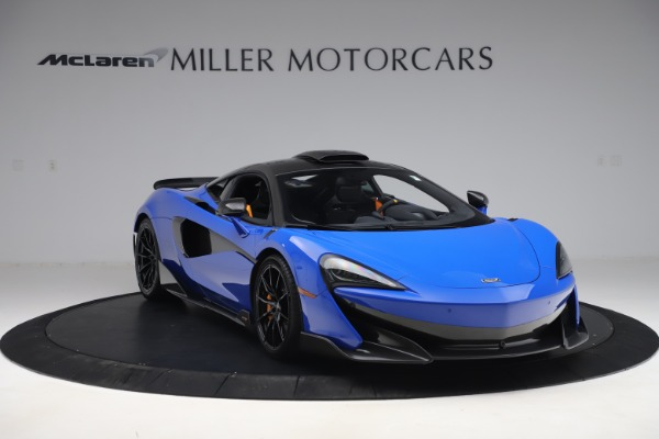 Used 2019 McLaren 600LT for sale $255,900 at Bugatti of Greenwich in Greenwich CT 06830 11