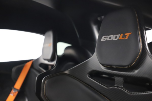 Used 2019 McLaren 600LT for sale $255,900 at Bugatti of Greenwich in Greenwich CT 06830 17