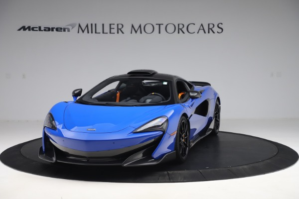 Used 2019 McLaren 600LT for sale $255,900 at Bugatti of Greenwich in Greenwich CT 06830 2